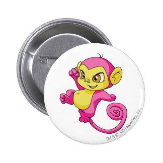 Mynci Pink 6 Cm Round Badge