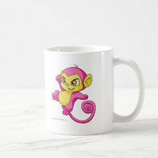 Mynci Pink Basic White Mug