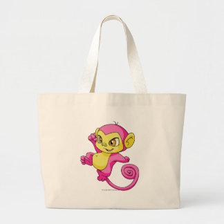 Mynci Pink Jumbo Tote Bag