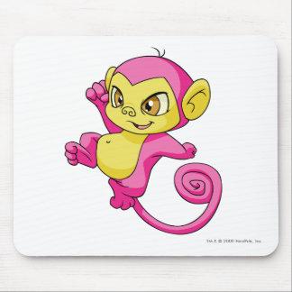 Mynci Pink Mouse Pad