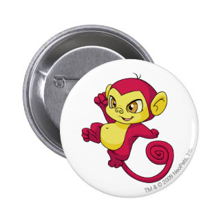 Mynci Red 6 Cm Round Badge
