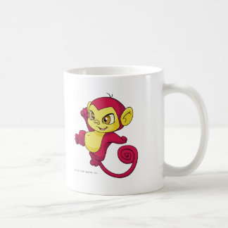 Mynci Red Basic White Mug