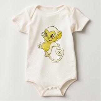 Mynci White Baby Bodysuits
