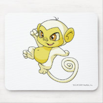 Mynci White mouse pads