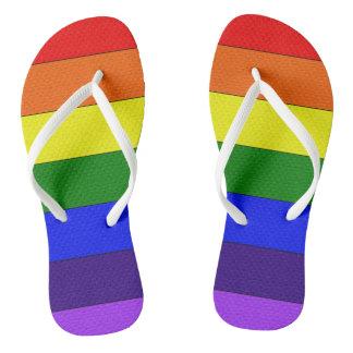 MyPride365 - Rainbow Flip Flop