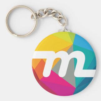 Myriad Coin Keychain