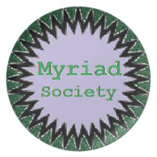 Myriad Society Plate