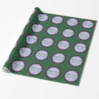 Myriad Society Wrapping Paper