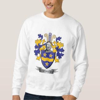 Myrick Family Crest Coat of Arms Sweatshirt