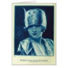 Myrna Loy 1925 vintage portrait card