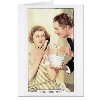 Myrna Loy Thin Man Card