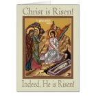 Myrrhbearing Women Easter (Pascha) Greeting Card