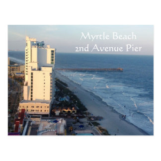 Myrtle Beach 2nd Avenue Pier Postcard