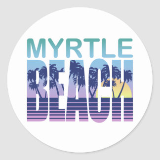 Myrtle Beach Classic Round Sticker
