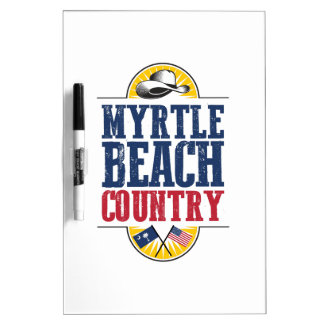 Myrtle Beach Country Dry Erase Board