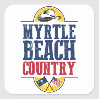 Myrtle Beach Country Square Sticker