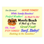 Myrtle Beach Crab Post Cards