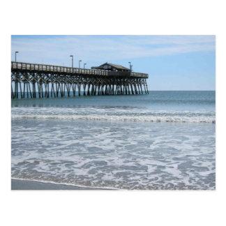 Myrtle Beach Pier Postcard