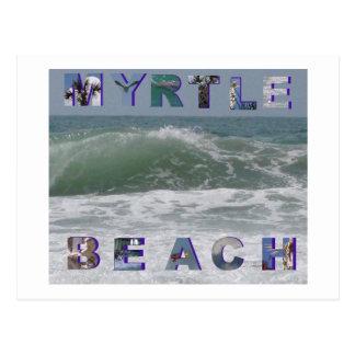 myrtle beach postcard