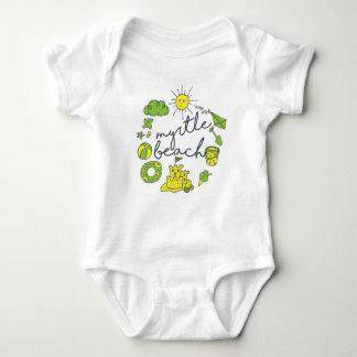 Myrtle Beach Script Baby Bodysuit