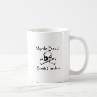 Myrtle Beach South Carolina Jolly Roger Coffee Mug