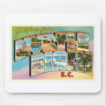 Myrtle Beach South Carolina SC Vintage Postcard- Mouse Pad