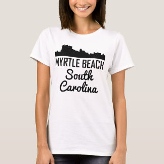 Myrtle Beach South Carolina Skyline T-Shirt