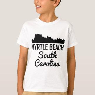 Myrtle Beach South Carolina Skyline T-Shirt