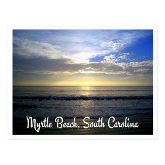 Myrtle Beach South Carolina Sunrise Postcard