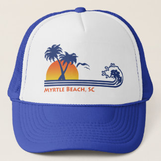 Myrtle Beach South Carolina Trucker Hat