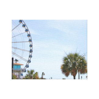 Myrtle Beach South Carollina, Skywheel Canvas Print