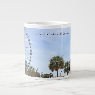 Myrtle Beach South Carollina, Skywheel Large Coffee Mug