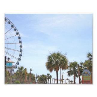 Myrtle Beach South Carollina, Skywheel Photo Print