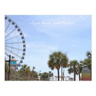 Myrtle Beach South Carollina, Skywheel Postcard