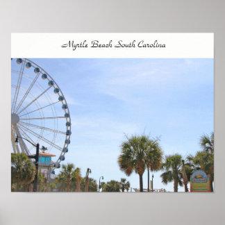 Myrtle Beach South Carollina, Skywheel Poster