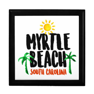 Myrtle Beach Watercolor Gift Box