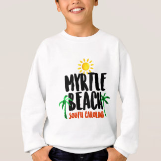 Myrtle Beach Watercolor Sweatshirt