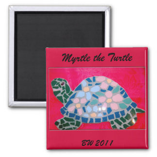 Myrtle the Turtle Magnet