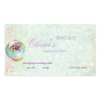 mys Sweet Shop Business card