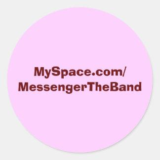 MySpace Sticker