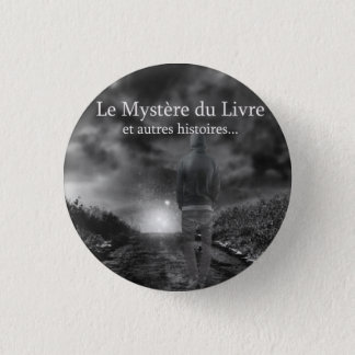 Mystère of the Book swipes in 3 Cm Round Badge
