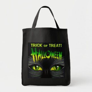 Mysterious Black Cat Halloween Trick or Treat
