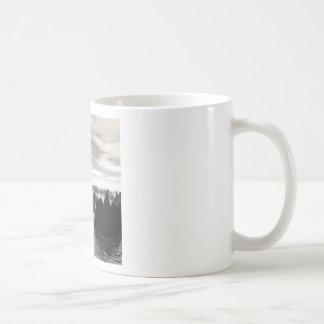 Mysterious Blue Orbs Coffee Mug