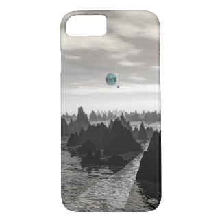 Mysterious Blue Orbs iPhone 8/7 Case