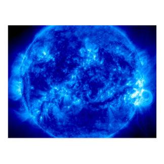 Mysterious Blue Sun Postcard