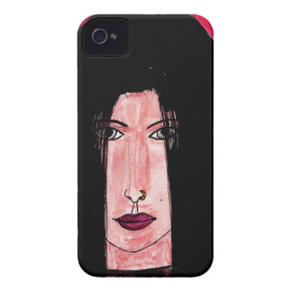 Mysterious Brunette iPhone 4 Case