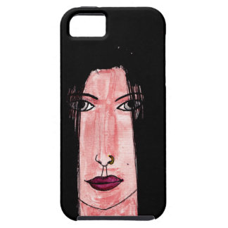 Mysterious Brunette iPhone 5 Cover