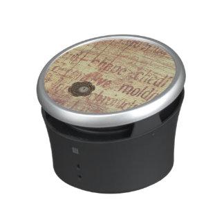 Mysterious Clock Speaker