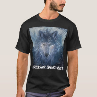 Mysterious Ghost Wolf T-Shirt