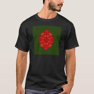 Mysterious handdrawn Folk Flowers T-Shirt
